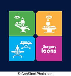 icônes, chirurgie