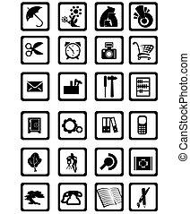 icônes, contemporain