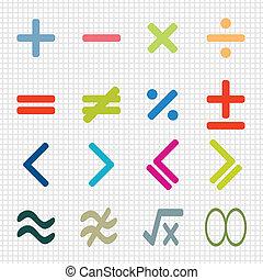 icônes, math