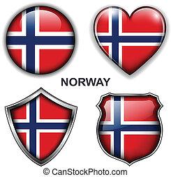 icônes, norvège