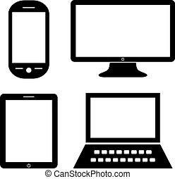 icônes ordinateur