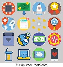 icônes, random:3], numérique, [keyword, sur, ensemble, commercialisation