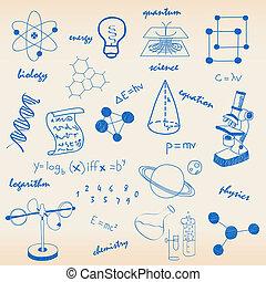 icônes, science