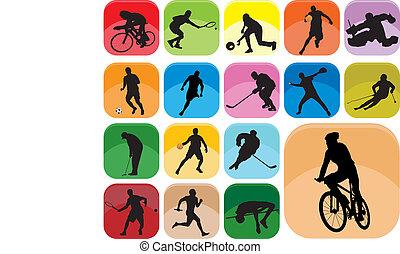 icônes sports