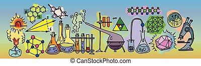 ic, 化学, 実験室