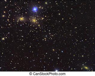 IC3949 Deep field of galaxies