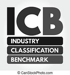 icb, 頭字語, 分類, -, 基準, 産業