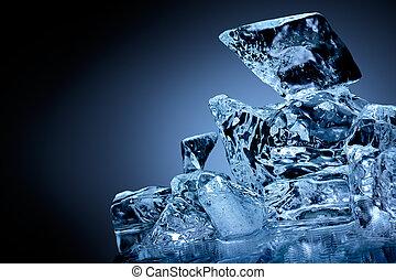 ice., 塊