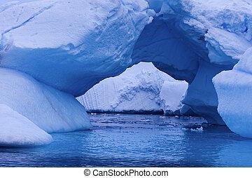 Ice arch - Antarctica