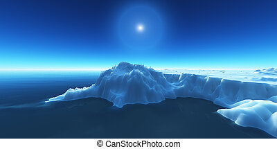 ice berg on see