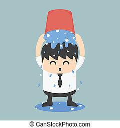 Ice bucket Challenge Business EPS.10 - Ice bucket Challenge...