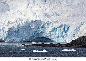 Ice cave - Antarctic Peninsula
