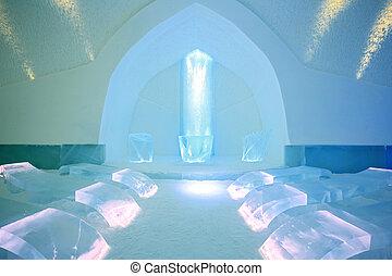 Ice Church in Kiruna Sweden