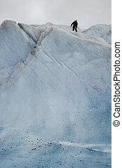 Ice climbing Mendenhall Glacier