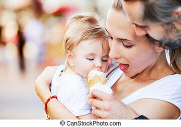 Ice cream baby