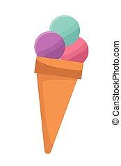 ice cream cartoon