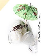 ice cream close up