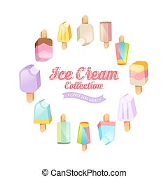 Ice cream collection