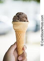 ice Cream Cone chocolate flavor