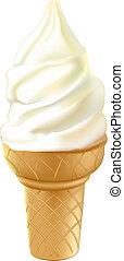 ice cream cone - ice cream in waffle cup