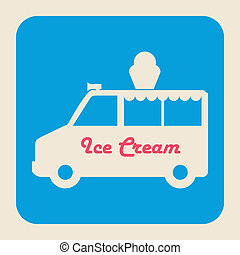 ice cream design ,vector illustration