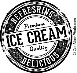 Ice Cream Dessert Vintage Sign