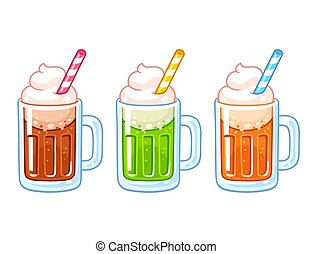 Ice cream float set