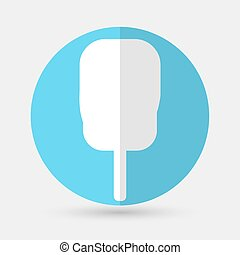 ice cream icon on a white background
