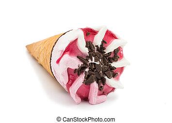 ice cream isolated