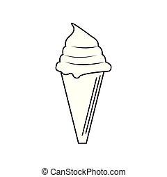 Ice cream outline
