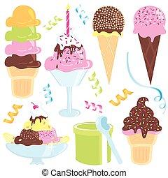 Ice Cream Party icons