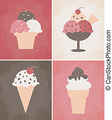 Ice Cream Posters Collection