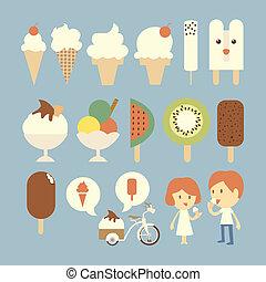 Ice cream set