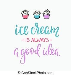 Ice cream shop promotion motivation advertising - Ice cream...