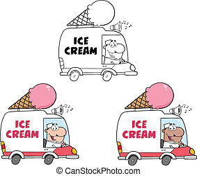 Ice Cream Truck. Collection