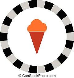 ice cream vector icon