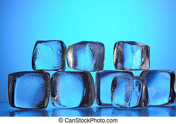 Ice cube group with reflection