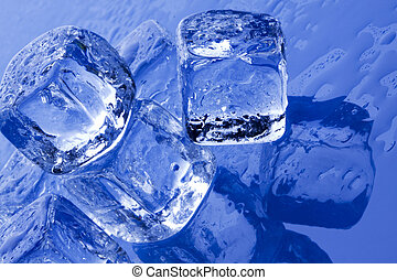 Ice cubes, pure fresh concept!