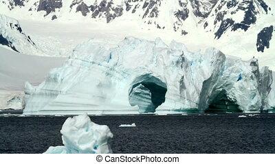 Ice Falling in Antarctica