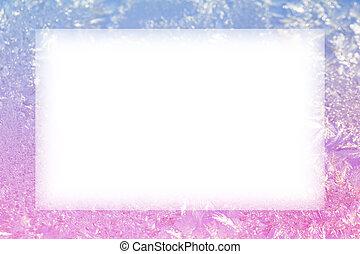 ice frozen frame - winter ice background frozen frame