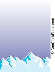ice hills - blue ice hills as very easy background