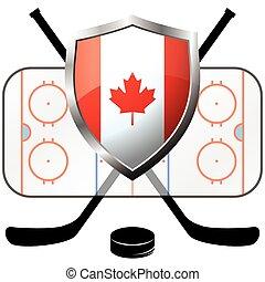 ice hockey Canada logo