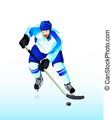 Ice-hockey player