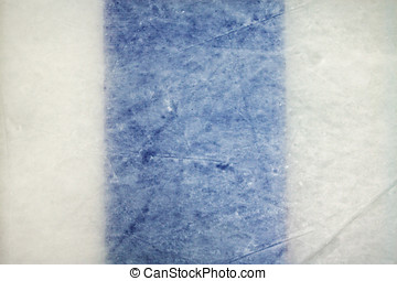 Ice Hockey Rink Blue Line