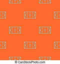 Ice hockey rink pattern seamless