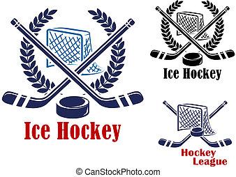 Ice hockey symbol