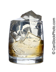 Ice in glass eight