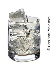 Ice in glass four
