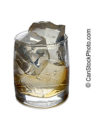 Ice in glass nine