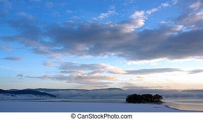 ice lake in bulgaria